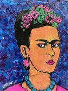 Fear-Less Frida SOLD