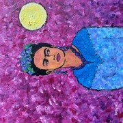 Frida and the Full Moon SOLD
