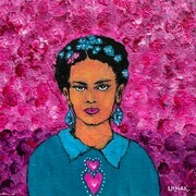 Frida's Courageous Heart SOLD